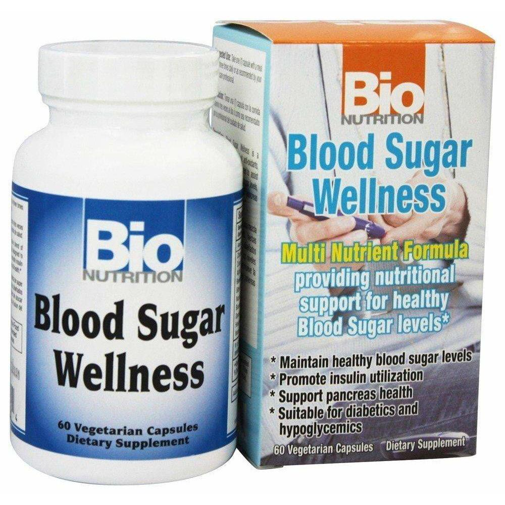 Blood Sugar Wellness bio nutrition 60 caps