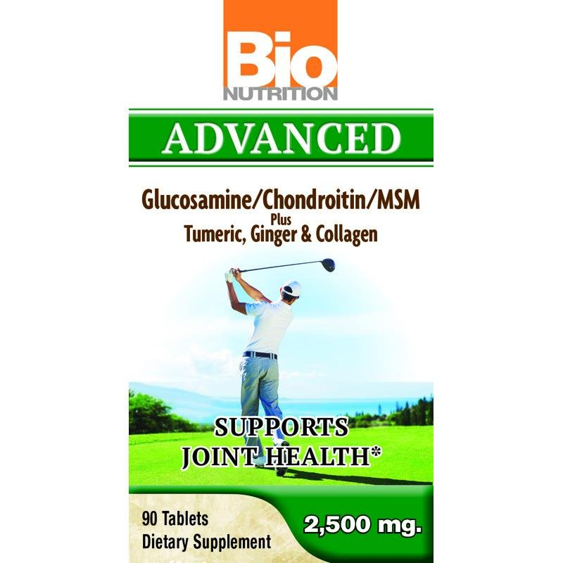 Bio Nutrition Inc Advanced Glucosamine - 90 Tablets
