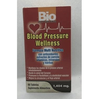 Blood Pressure Wellness 1,404mg 60 Tabletas