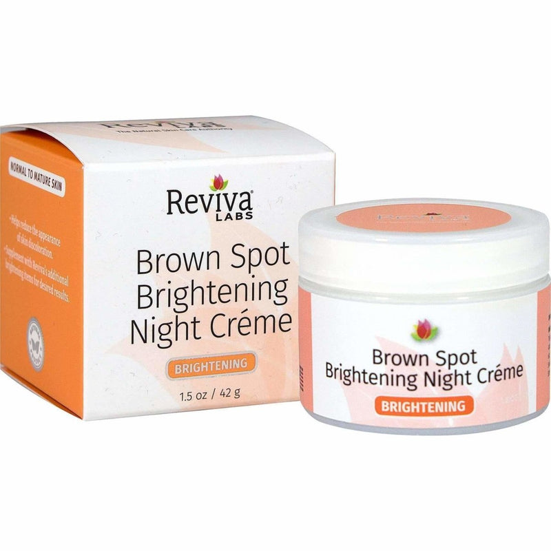 Brown Spot Brightening Night Creme 1.5 Oz 42g