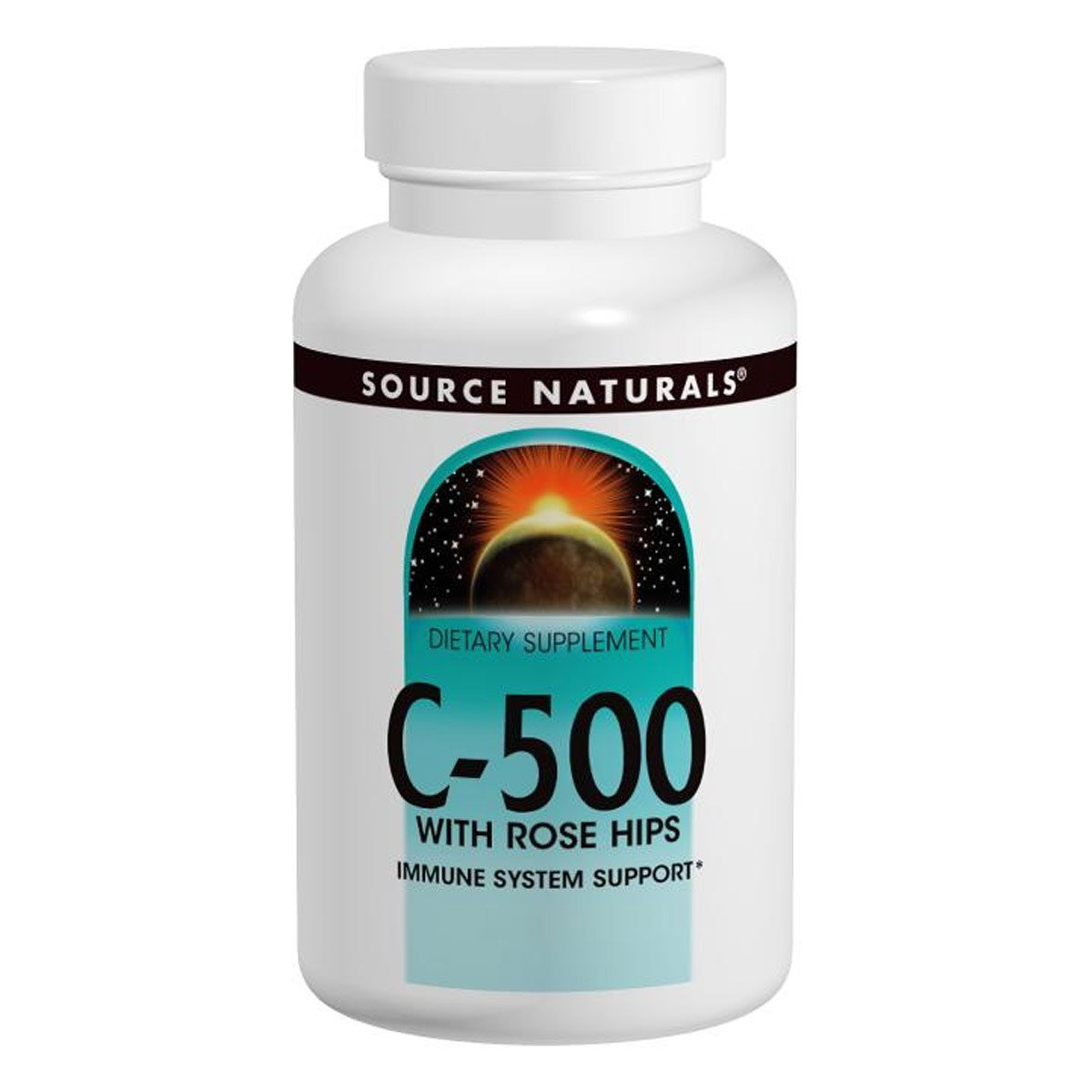 C-500 with Rose Hips 100 Tablets