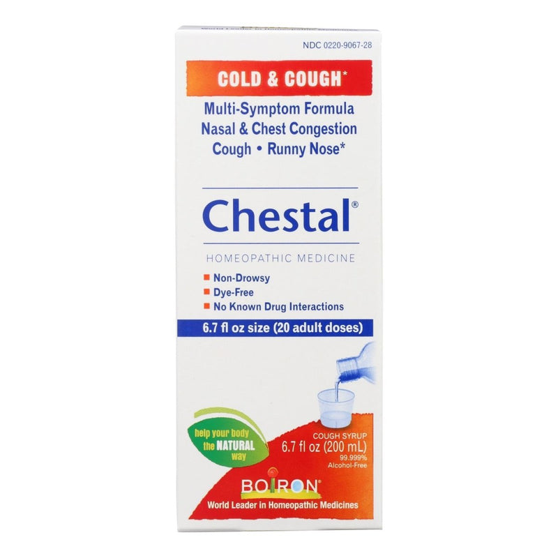 Chestal Cold & Cough Syrup Boiron 6.7 fl oz Liquid