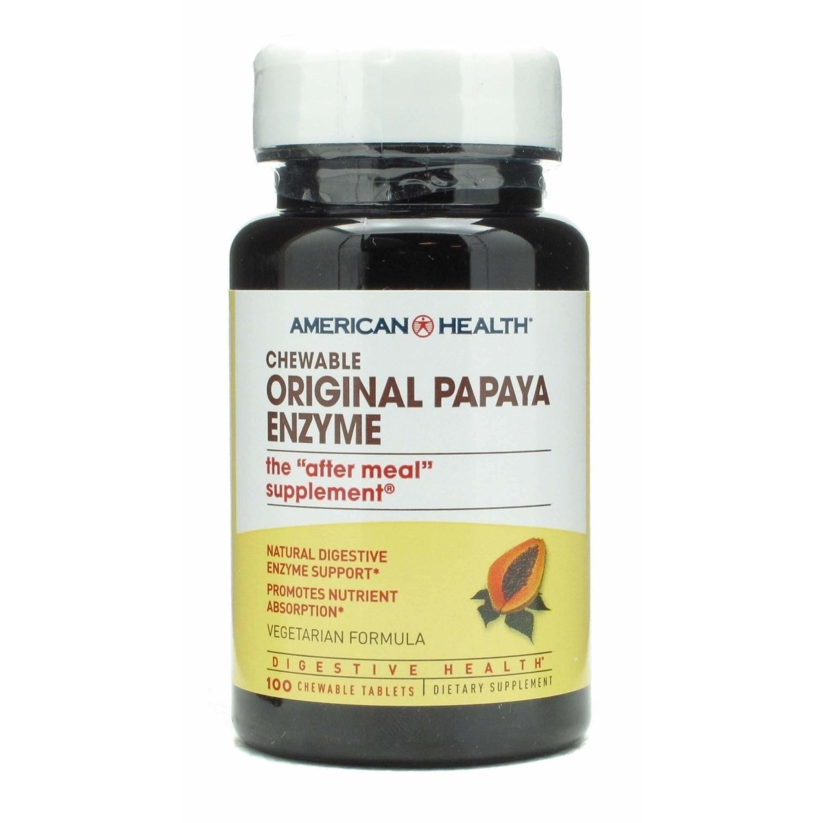 Chewable - Original Papaya Enzyme - 100 Tablets