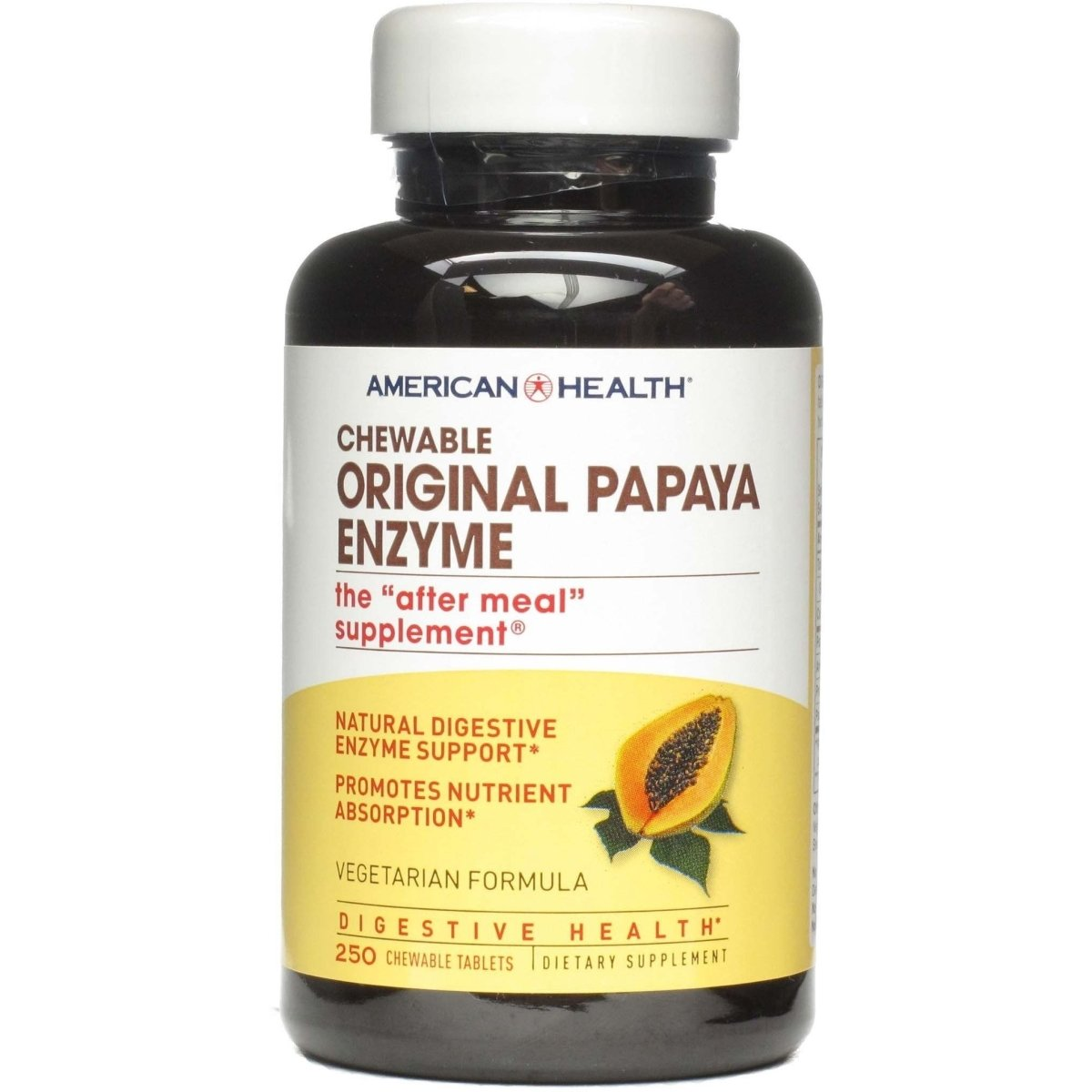 Chewable - Original Papaya Enzyme - 250 Tablets