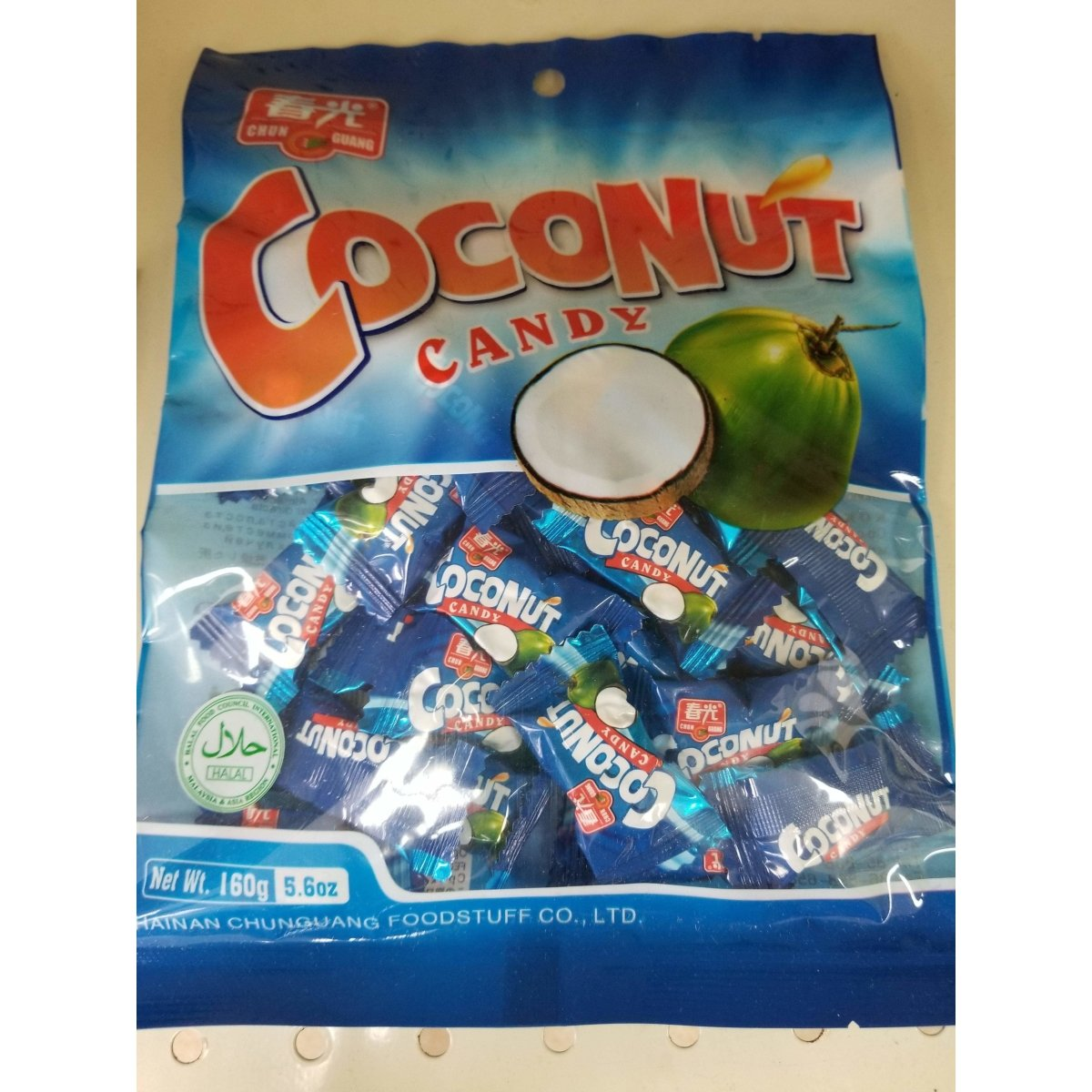 Coconut Candy 5.6 Oz