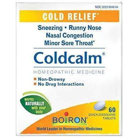 Cold Calm - Cold Relief 60 Tablets