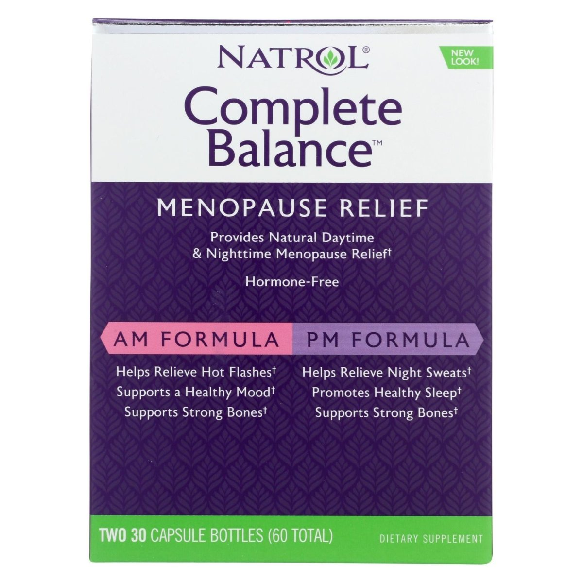 Complete Balance Menopause Relief 2 x 30 Capsule Bottles