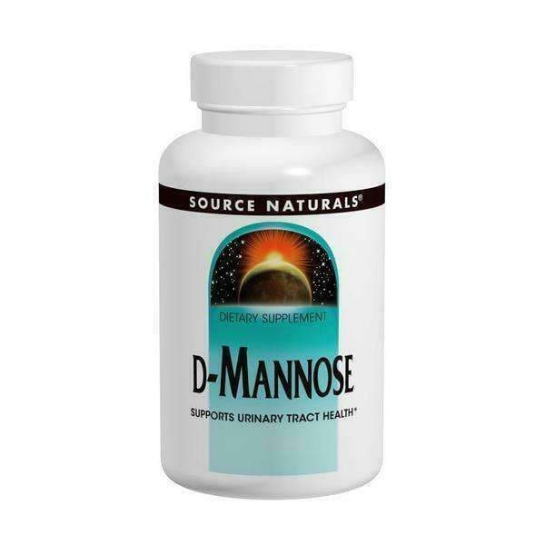 D-Mannose - Supports Urinary Tract 50mg 60 Capsules