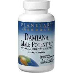 Damiana Male Potential - Botanical prostate Support 575 mg 45 Tablets