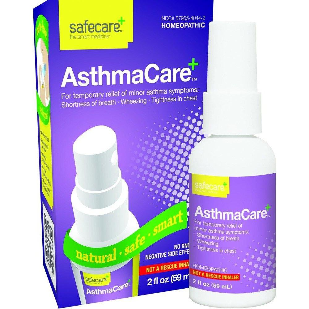 Dr. Kings Medicine By King Bio - SafeCare Asthma Care - 2oz