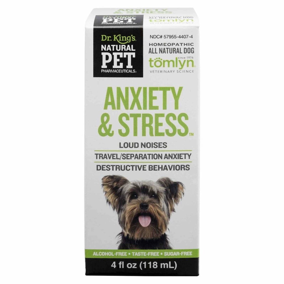 Dr. Kings Medicine By King Bio - Stress Control For Canines - Liquid Multi-Colored - 4oz