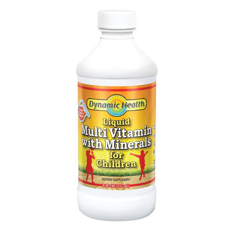 Dynamic Health Liquid Multivitamin with Minerals for Children - 8oz
