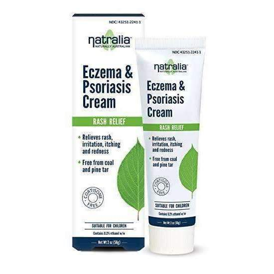 Eczema & Psoriasis Cream - Rash Relief 2 oz