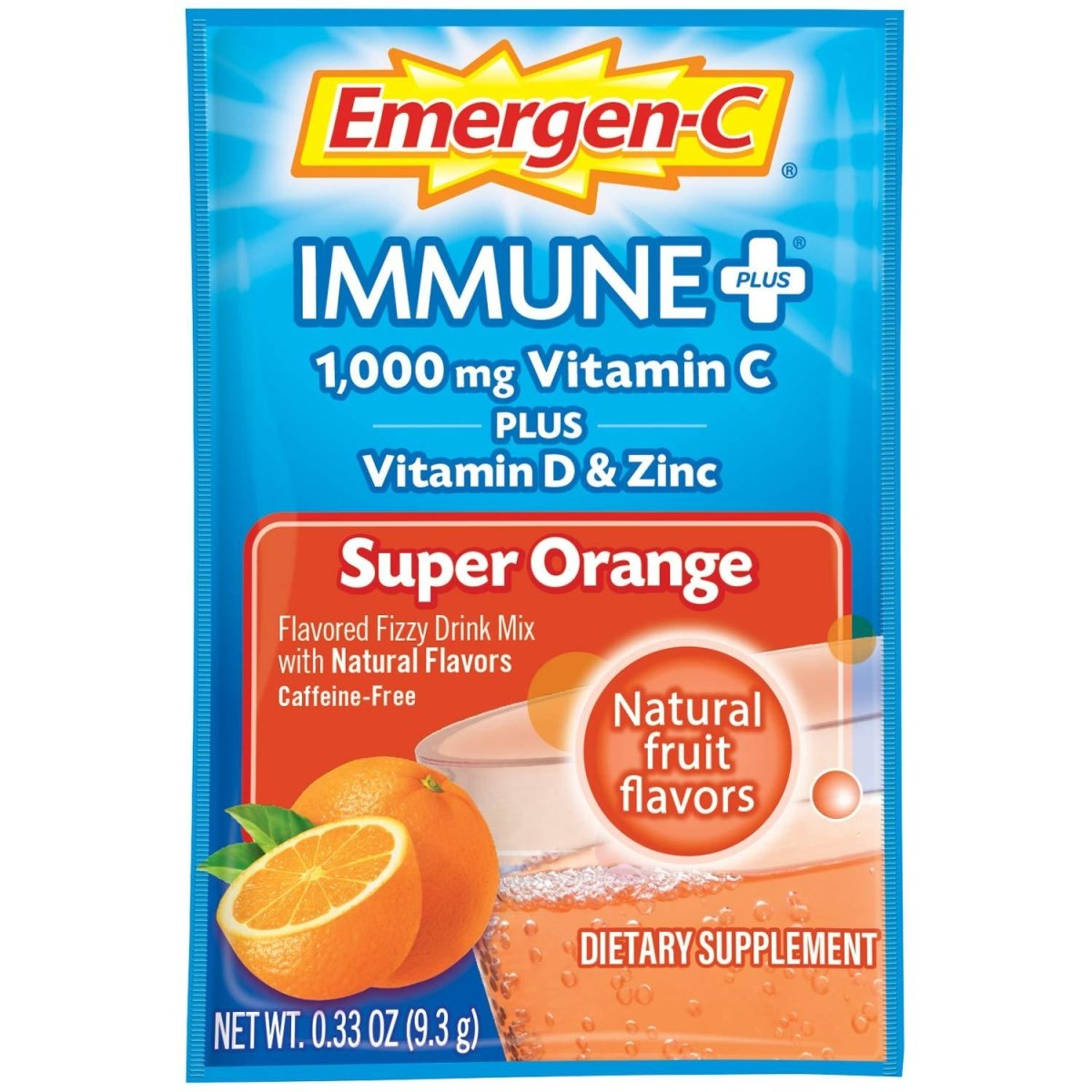 Emergen-C Immune+ Orange 10 Packets