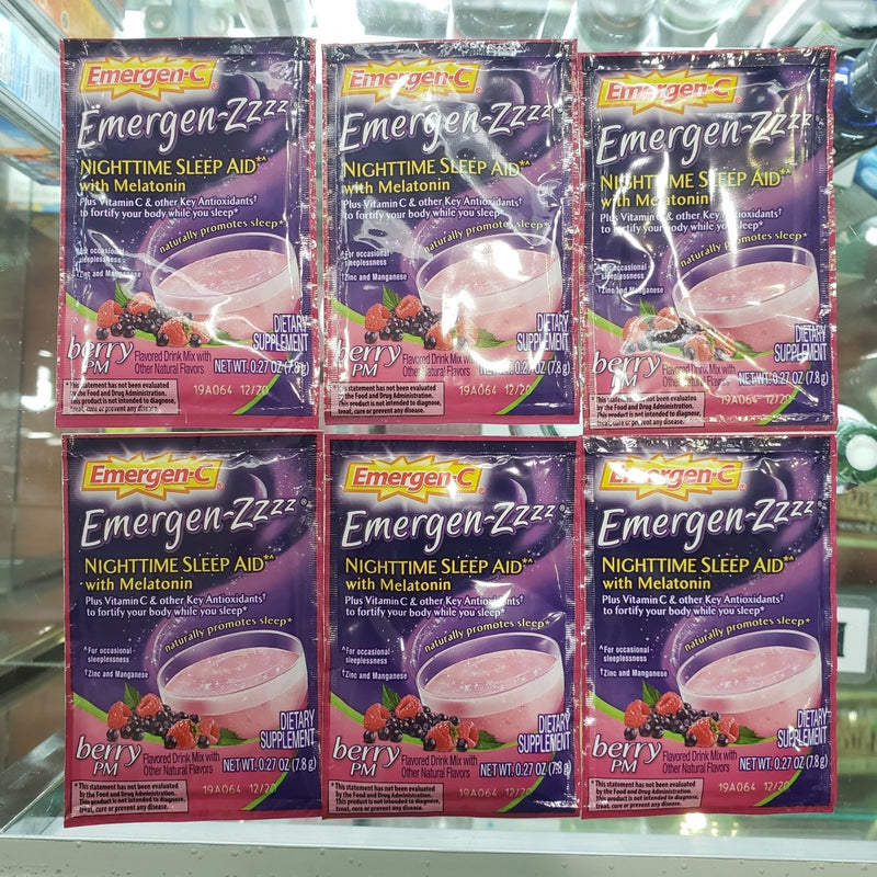 Emergen-Zzzz Nighttime Sleep Aid with Melatonin