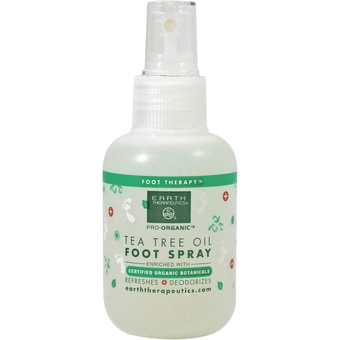 Foot Spray- Antiseptic With Tea Tree Oil 4 Oz