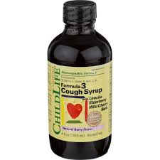 Formula 3 Cough Syrup Natural Berry Flavor 4 OZ
