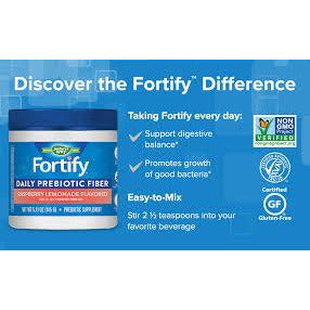 Fortify Daily Prebiotic Powder Raspberry Lemonade 5.11 oz
