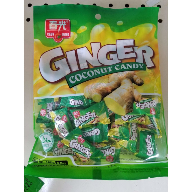 Ginger Coconut Candy 5.6 Oz