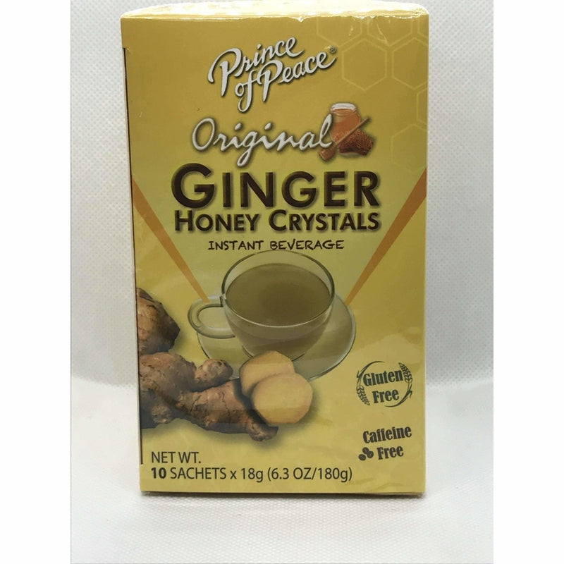 Ginger Honey Crystals 10 Sachets Bags