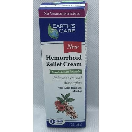 Hemorrhoid Relief Cream 1 Oz