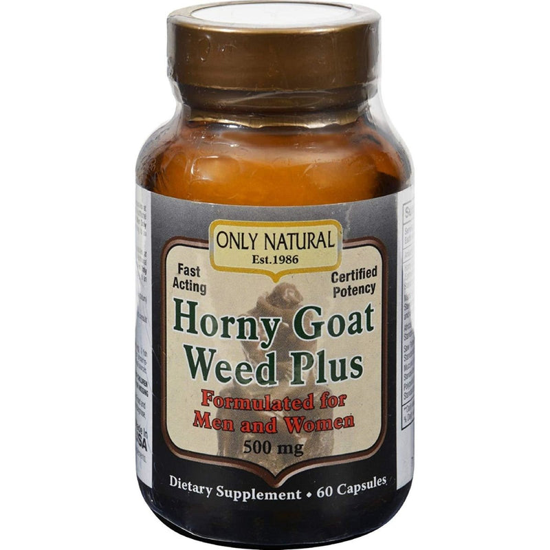 Horny Goat Weed Plus 500mg 60 Capsules