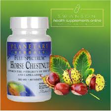 Horse Chestnut, Full Spectrum™ 300 mg 60 Tabl