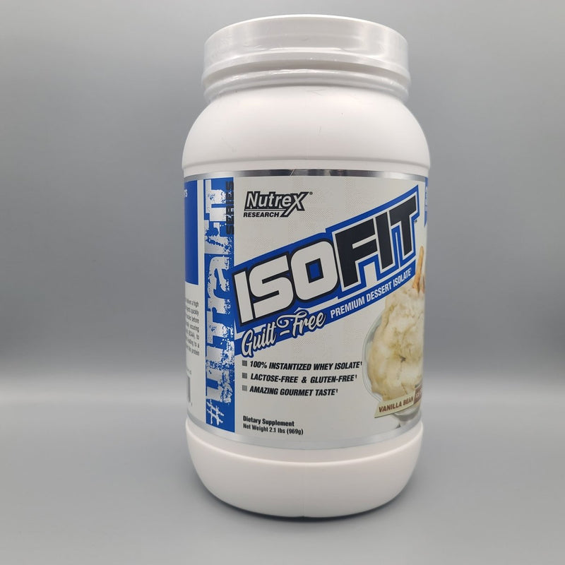 ISOFIT - Dessert - Isolate - Vanilla Bean Ice Cream- 2.1LB