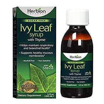 Ivy Leaf Syrup with Thyme 5 Oz