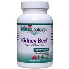 Kidney Beef Natural Glandular 100 caps