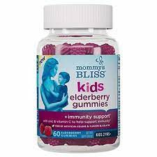 Kids Elderberry Gummies + Immunity Support 60 Gummies