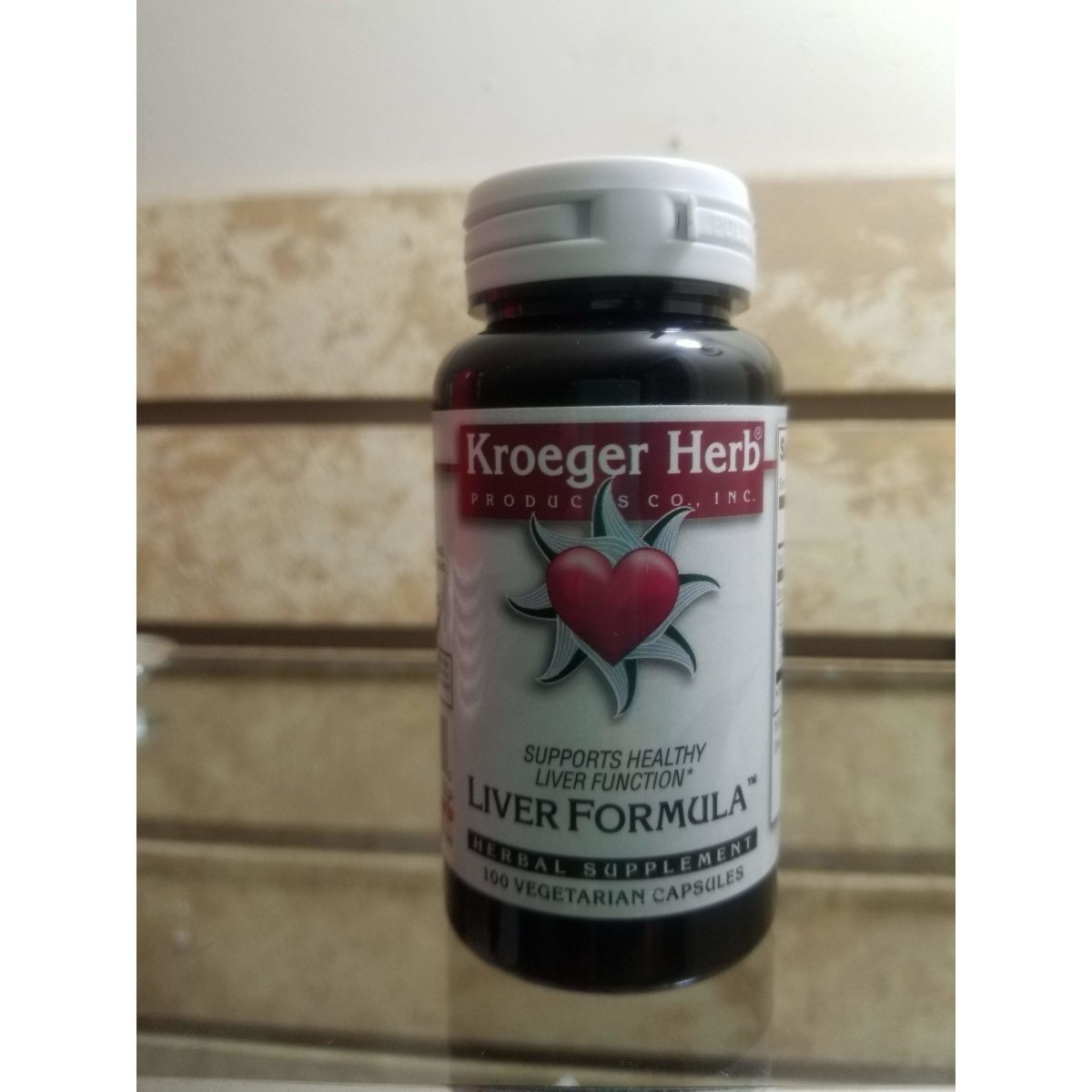 Kroeger Herb Liver Formula 100 caps Combinations