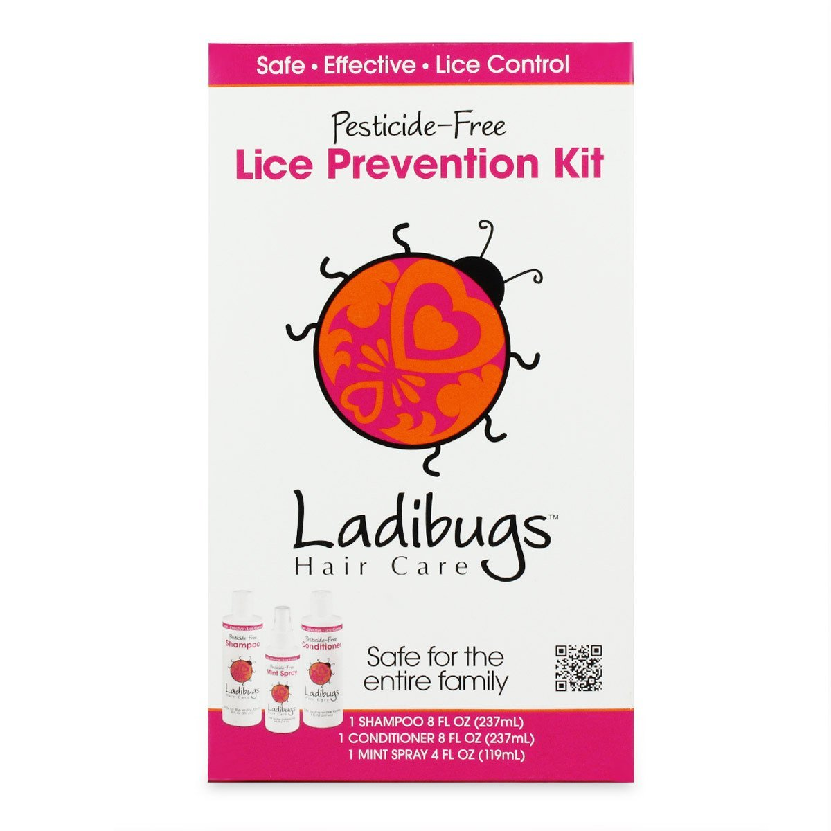 Lice Prevention Kit - 3 Pieces