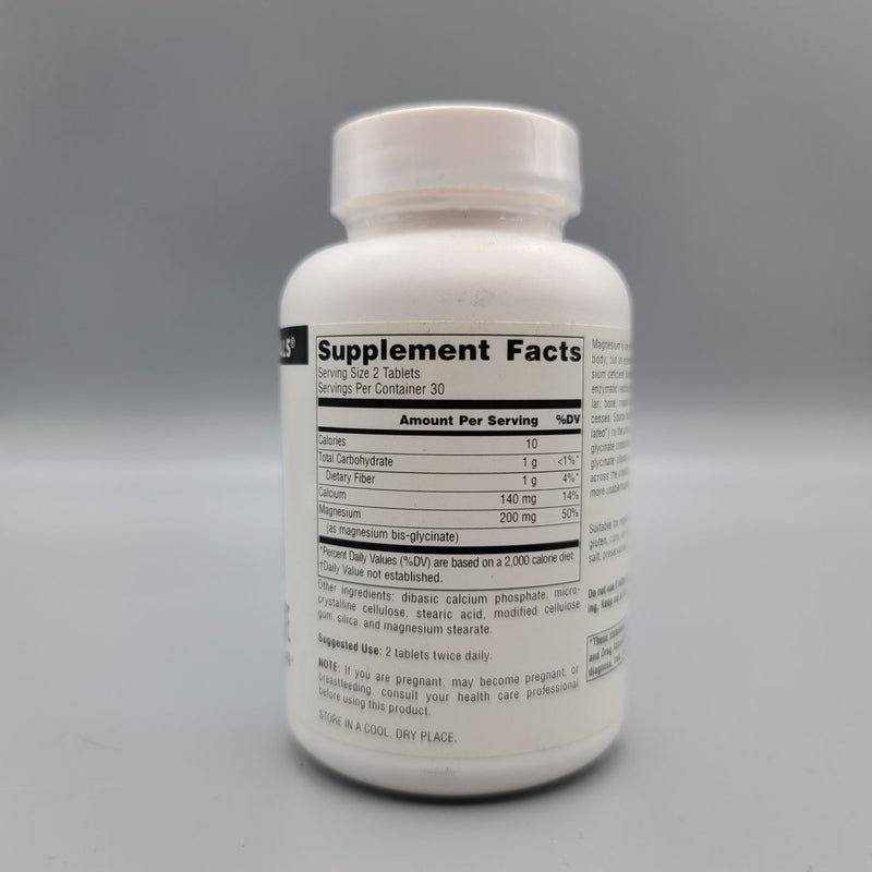 Magnesium Bis - Glycinate 60 Tablets