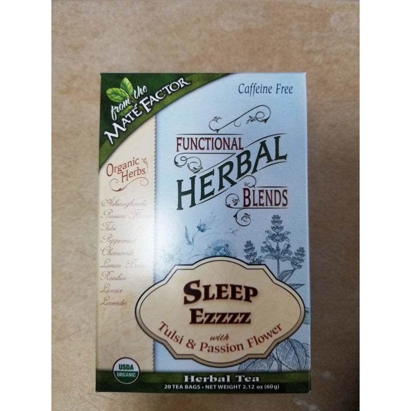 Mate Factor Organic Sleep Ezzz With Tulsi And Passion Flower Tea 234494