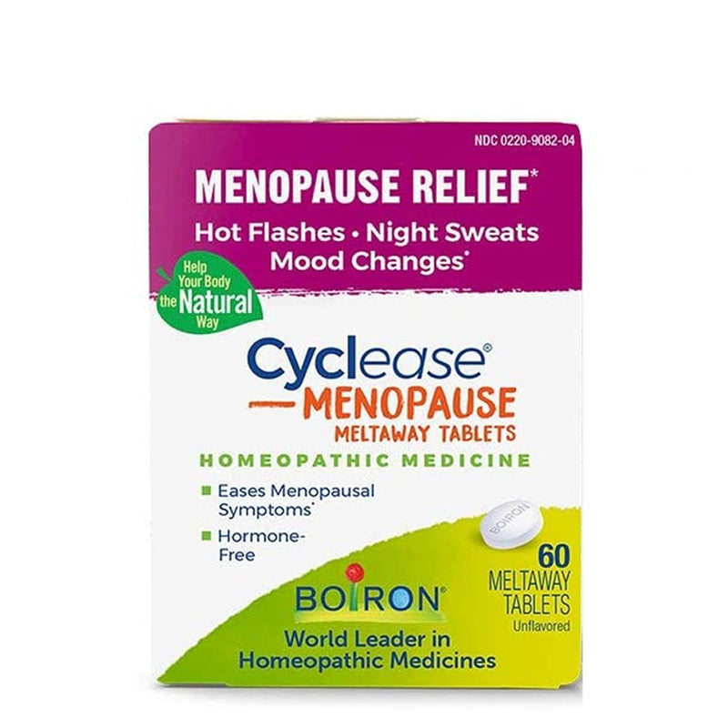 Menopause Relief - Cycleanse Manopause - 60 Meltaway Capsules