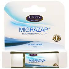 MigraZap Magnesium Roll-On Mint