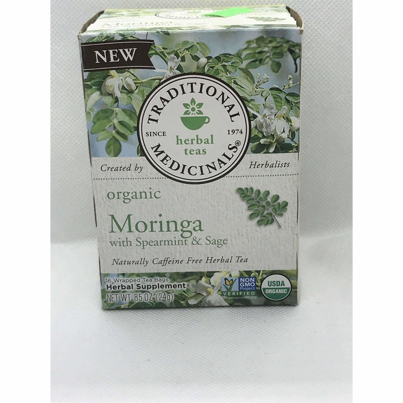 Moringa with Spearmint & Sage 16 Teabags