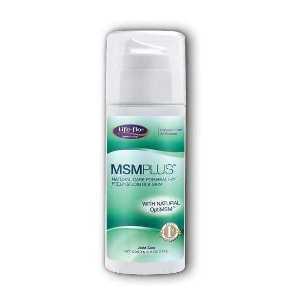 MSM Plus Natural Care for Healthy Feeling Joints and Skin - 5oz