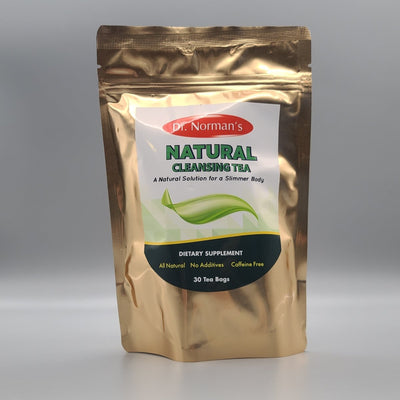 Natural Cleansing Tea - A Natural Solution for a Slimmer Body - 30 Bags