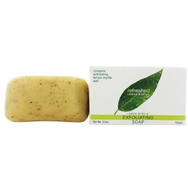 Natural Soap Exfoliating Lemon Myrtle- Tea Tree Therapy