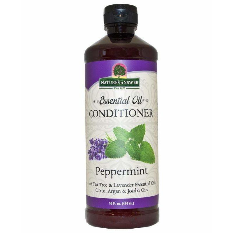 Nature's Answer Essential Oil Conditioner Peppermint 16 oz Liquid