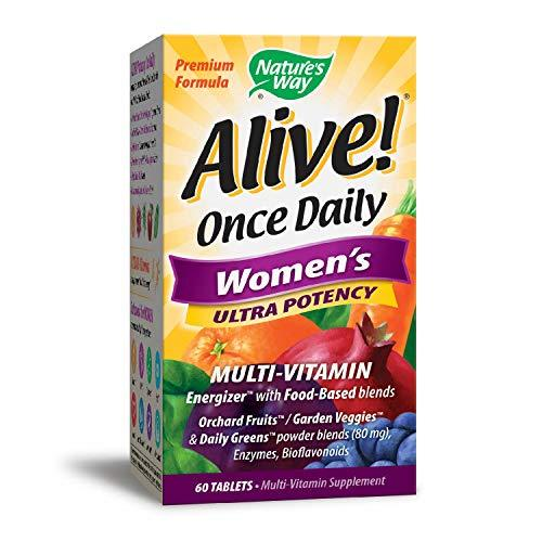 Nature's Way Alive! Once Daily Women's Ultra Potency Multivitamin, Tablets