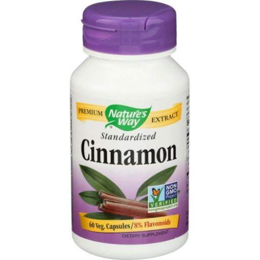 Nature's Way Cinnamon Dietary Supplement Vcaps