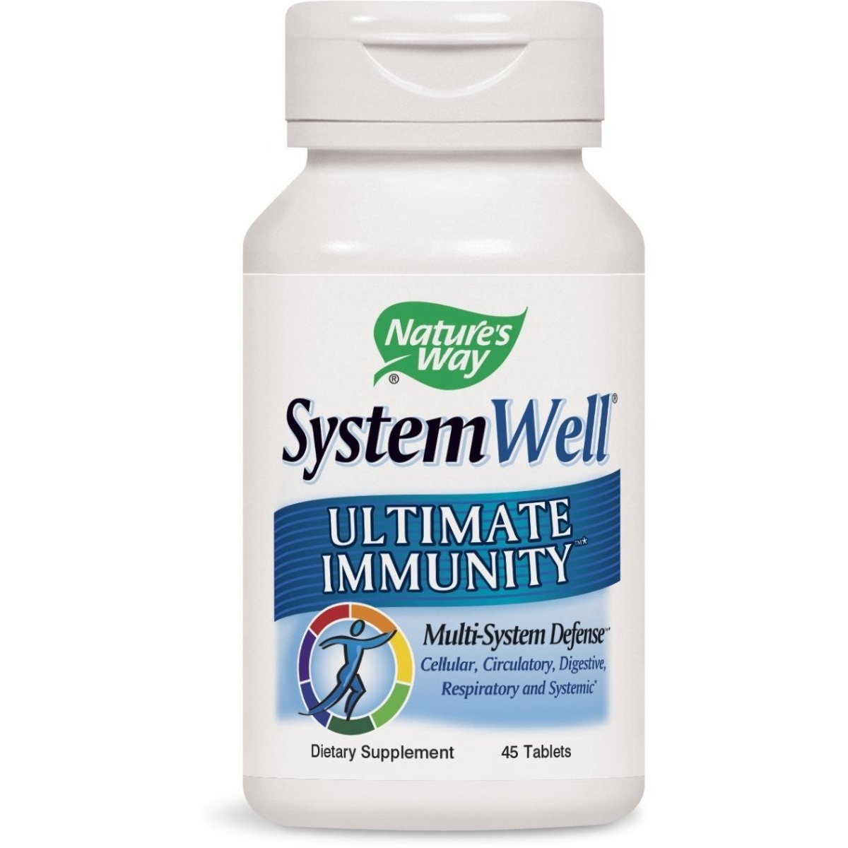 Nature's Way SystemWell Ultimate Immunity, Multi-System Defense Tablets