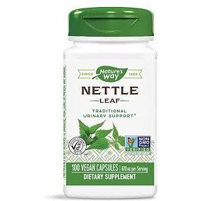 Nettle Leaf - 870mg - 100 Vegetarian Capsules - Nature's Way.