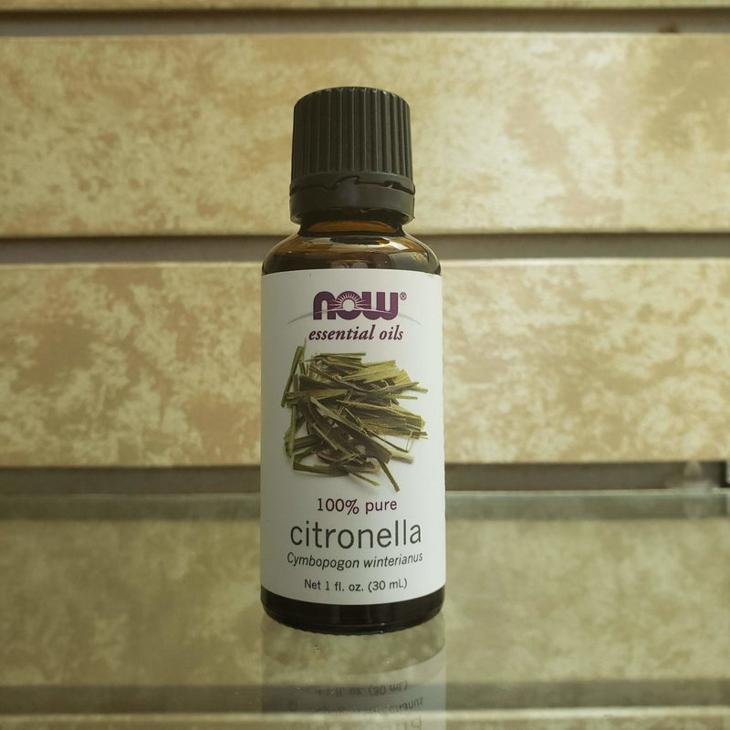 Now Essential Oil - 100% Citronella Caymbopogan Winterianus - 1oz