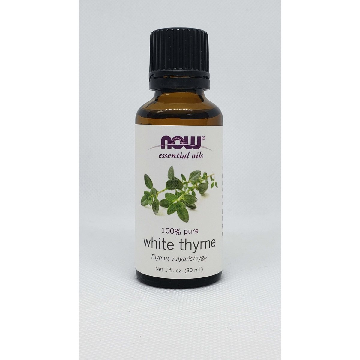 Now Essential Oils - 100% Pure White Thyme - Thymus Vulgaris / Zygis - 1oz