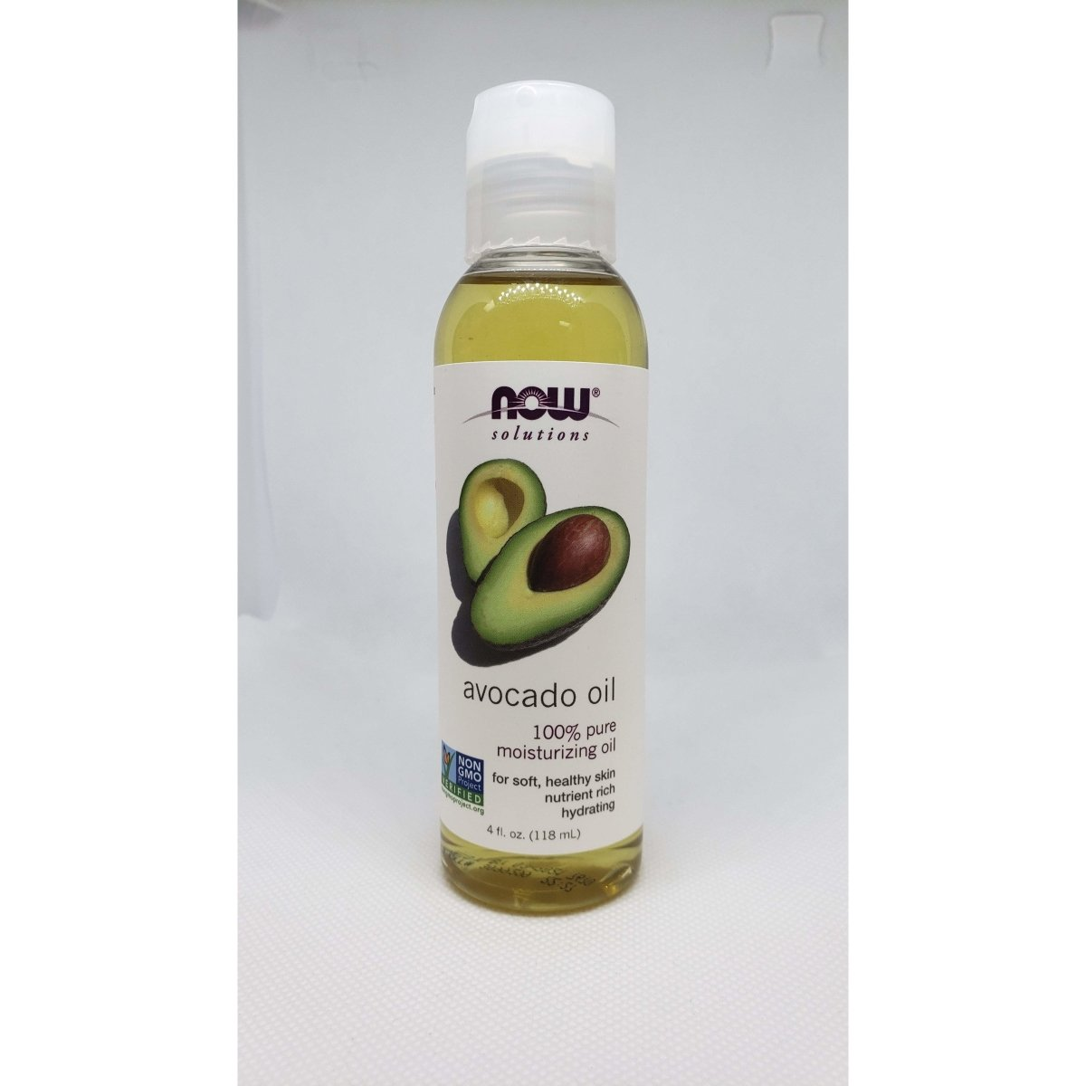 Now Solution - Avocado Oil - 100% Pure Moisturizing Oil - For Soft, Healthy Skin - Nutrient Rich - Hydrating - 4oz