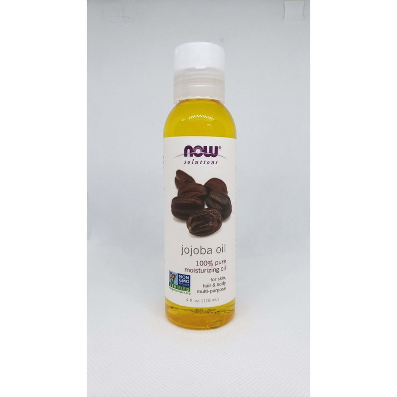 Now Solutions - Jojoba Oil - 100% Pure Moisturizing Oil - For Skin, Hair & Body Multi-Purpose - 4oz